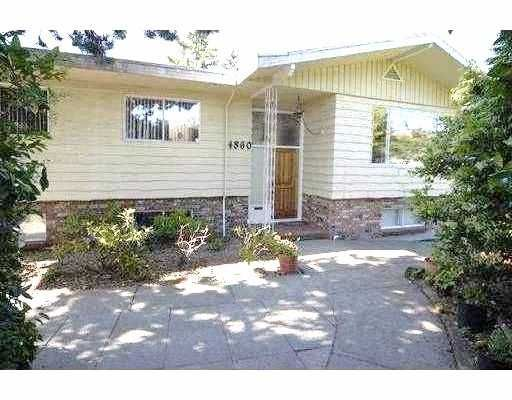 Main Photo: 4860 RUMBLE Street in Burnaby: South Slope House for sale (Burnaby South)  : MLS®# V758198