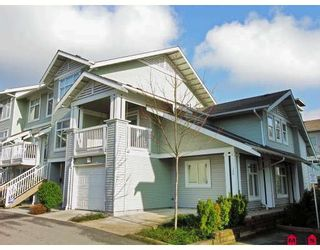 """Photo 1: 172 20033 70TH Avenue in Langley: Willoughby Heights Townhouse for sale in """"Denim"""" : MLS®# F2729721"""