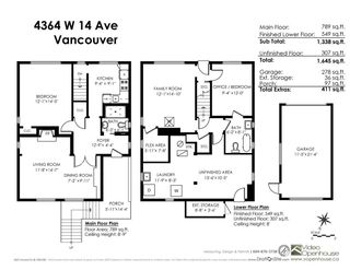 Photo 18: 4364 W 14TH Avenue in Vancouver: Point Grey House for sale (Vancouver West)  : MLS®# R2163010