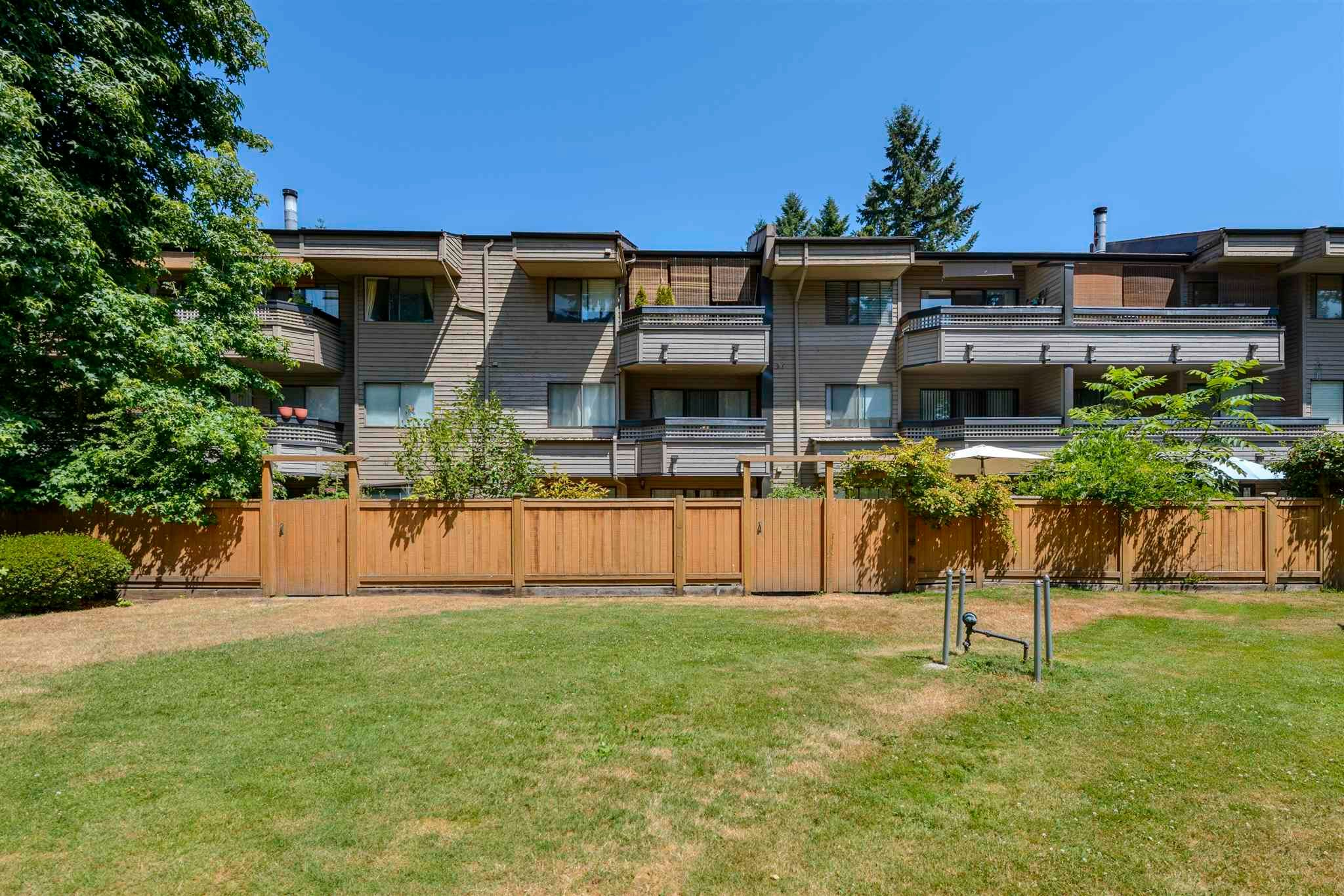 """Main Photo: 111 1195 PIPELINE Road in Coquitlam: New Horizons Condo for sale in """"DEERWOOD COURT"""" : MLS®# R2601284"""