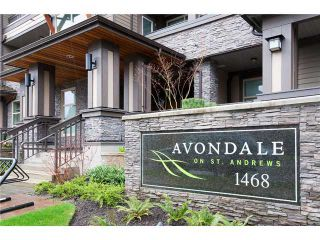 Photo 1: 310 1468 ST ANDREWS Avenue in North Vancouver: Central Lonsdale Condo for sale : MLS®# V901493