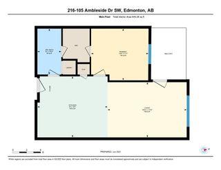Photo 26: 216 105 AMBLESIDE Drive in Edmonton: Zone 56 Condo for sale : MLS®# E4259294