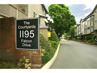 """Photo 1: 47 1195 FALCON Drive in Coquitlam: Eagle Ridge CQ Townhouse for sale in """"Courtyards"""" : MLS®# V1012695"""
