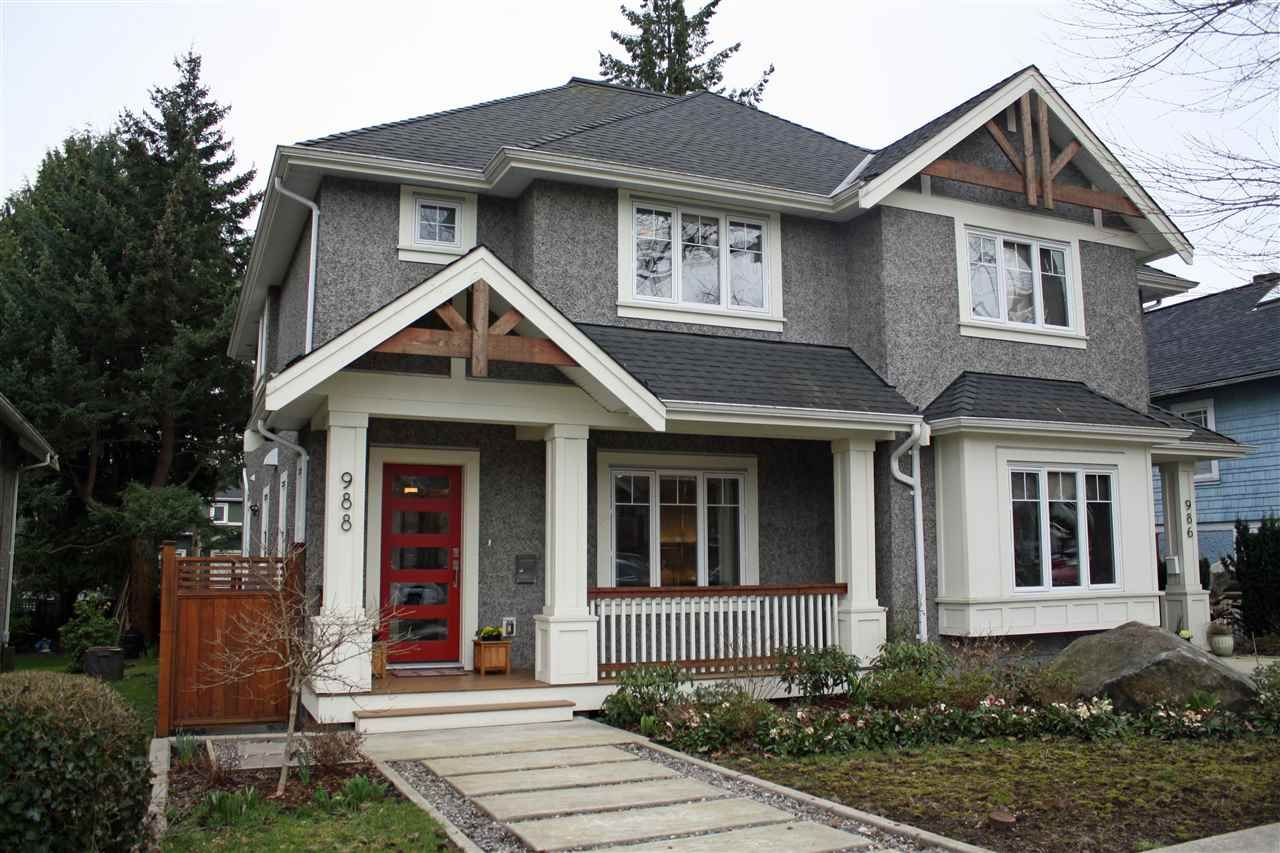 Main Photo: 988 E 20TH Avenue in Vancouver: Fraser VE 1/2 Duplex for sale (Vancouver East)  : MLS®# R2152467