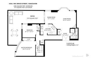 """Photo 17: 301 789 JERVIS Street in Vancouver: West End VW Condo for sale in """"JERVIS COURT"""" (Vancouver West)  : MLS®# R2236913"""