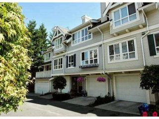 """Photo 1: 78 8844 208TH Street in Langley: Walnut Grove Townhouse for sale in """"MAYBERRY"""" : MLS®# F1203954"""