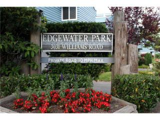 "Photo 1: 132 3031 WILLIAMS Road in Richmond: Seafair Townhouse for sale in ""EDGEWATER PARK"" : MLS®# V839487"