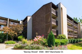 "Photo 1: 306 9847 MANCHESTER Drive in Burnaby: Cariboo Condo for sale in ""Barclay Woods"" (Burnaby North)  : MLS®# R2095545"