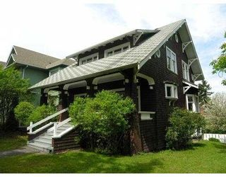 Photo 1: 305 W 13TH AV in Vancouver: Mount Pleasant VW House for sale (Vancouver West)  : MLS®# V589749