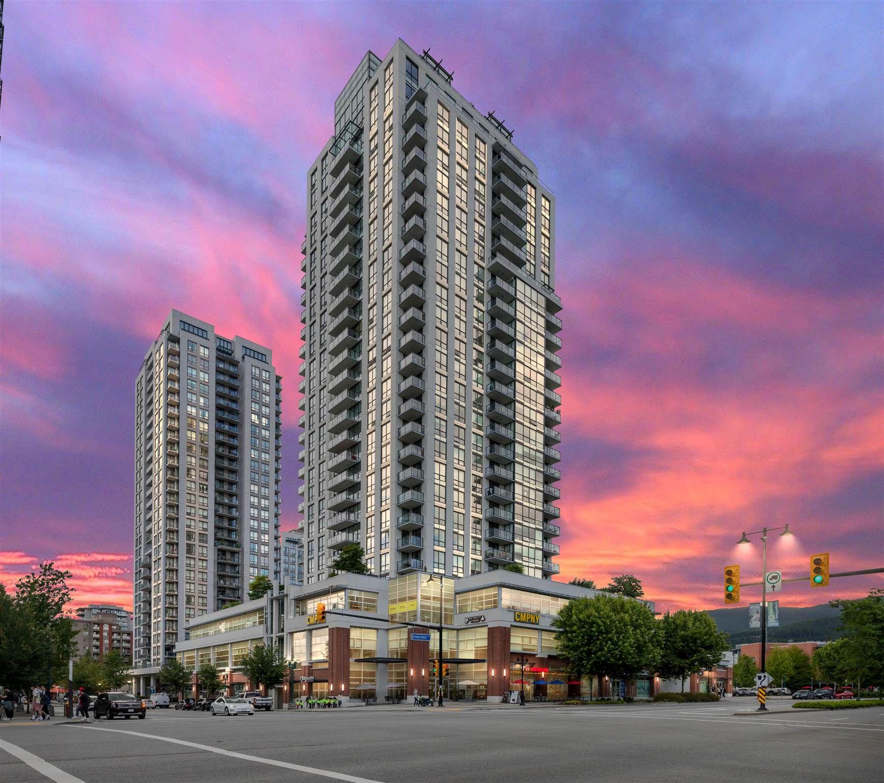 Main Photo: 1508 3007 GLEN Drive in Coquitlam: North Coquitlam Condo for sale : MLS®# R2605212
