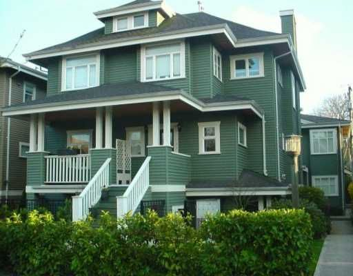Main Photo: 158 W 14TH Ave in Vancouver: Mount Pleasant VW Townhouse for sale (Vancouver West)  : MLS®# V633672