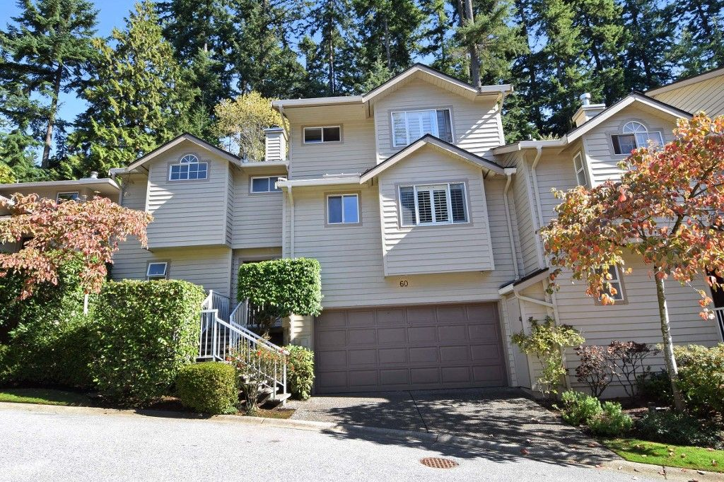 Main Photo: 60 DEERWOOD PLACE in PORT MOODY: Heritage Mountain Townhouse for sale (Port Moody)  : MLS®# R2005385