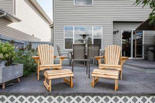 Photo 35: 124 CASTLE Drive in Edmonton: Zone 27 House Half Duplex for sale : MLS®# E4260271