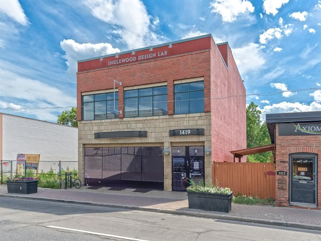Main Photo: 1419 9 Avenue SE in Calgary: Inglewood Retail for sale : MLS®# A1087191