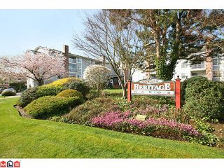 """Photo 1: 223 5379 205TH Street in Langley: Langley City Condo for sale in """"HERITAGE MANOR"""" : MLS®# F1007495"""