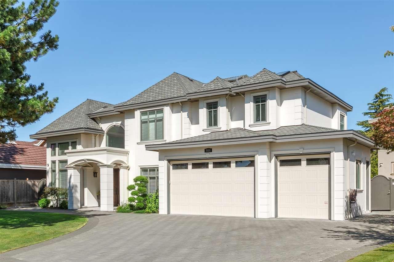 Main Photo: 7531 GLACIER Crescent in Richmond: Broadmoor House for sale : MLS®# R2449214