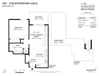 "Photo 28: 401 7418 BYRNEPARK Walk in Burnaby: South Slope Condo for sale in ""GREEN"" (Burnaby South)  : MLS®# R2519549"