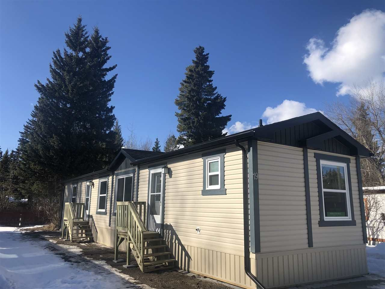 """Main Photo: 19 8474 BUNCE Road in Prince George: Haldi Manufactured Home for sale in """"TRAILER VILLAGE"""" (PG City South (Zone 74))  : MLS®# R2556298"""