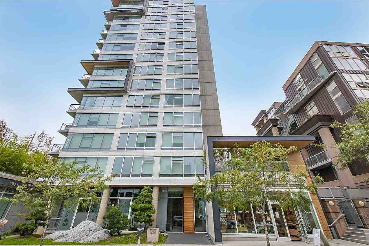 Main Photo: 705 1565 W 6TH Avenue in Vancouver: False Creek Condo for sale (Vancouver West)  : MLS®# R2564372