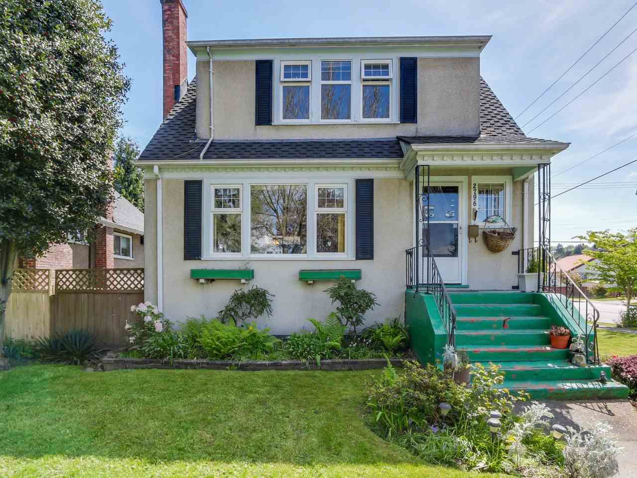 Photo 1: Photos: 2796 W 21ST Avenue in Vancouver: Arbutus House for sale (Vancouver West)  : MLS®# R2078868