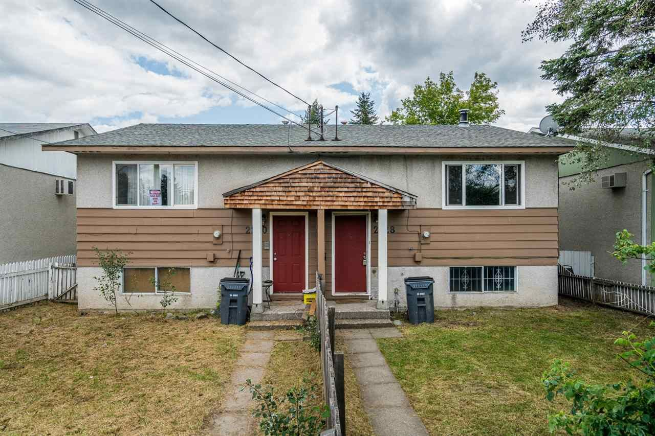 Main Photo: 2220 - 2228 VICTORIA Street in Prince George: VLA Duplex for sale (PG City Central (Zone 72))  : MLS®# R2387128