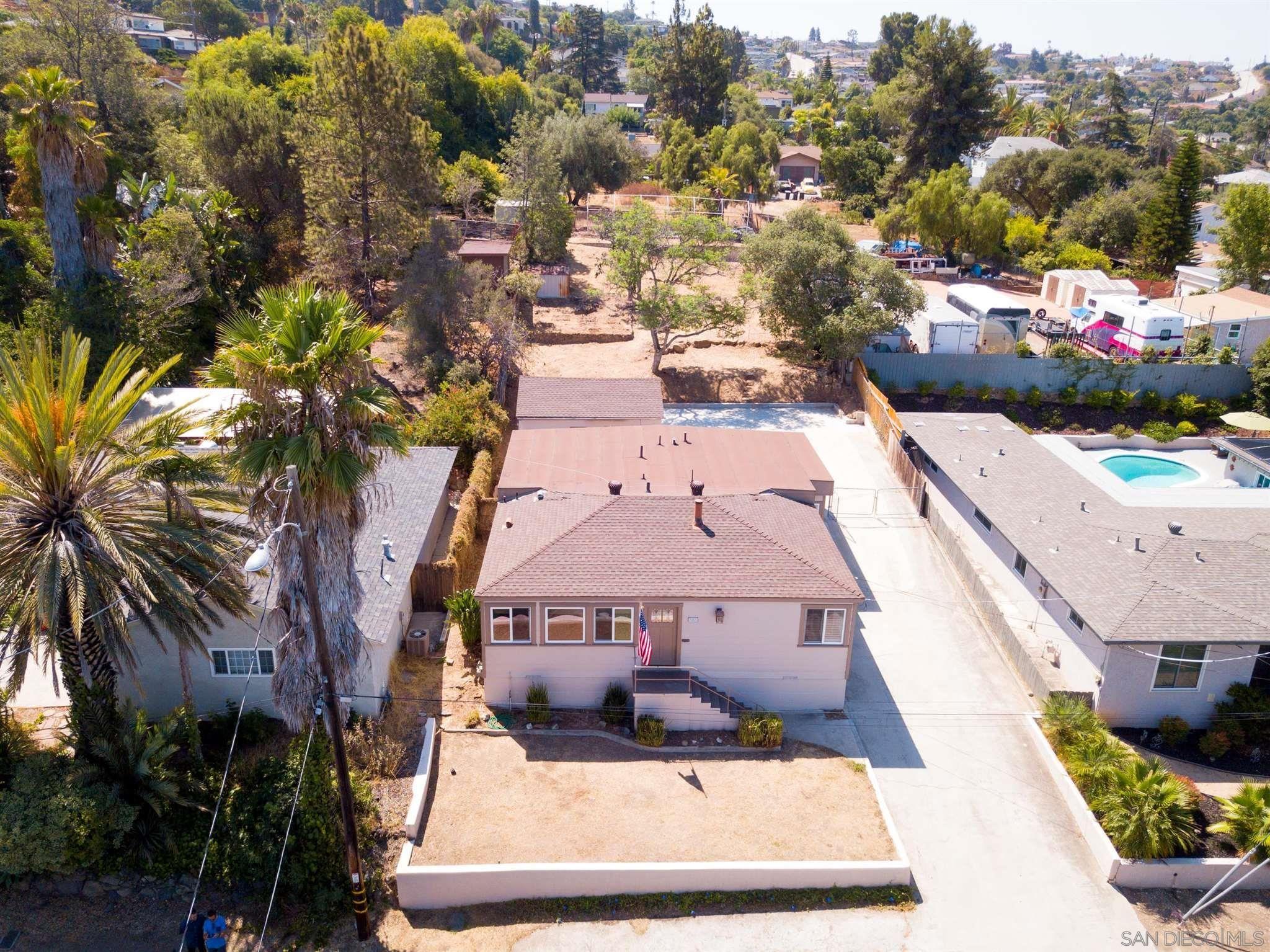 Main Photo: LA MESA House for sale : 3 bedrooms : 7887 Grape St
