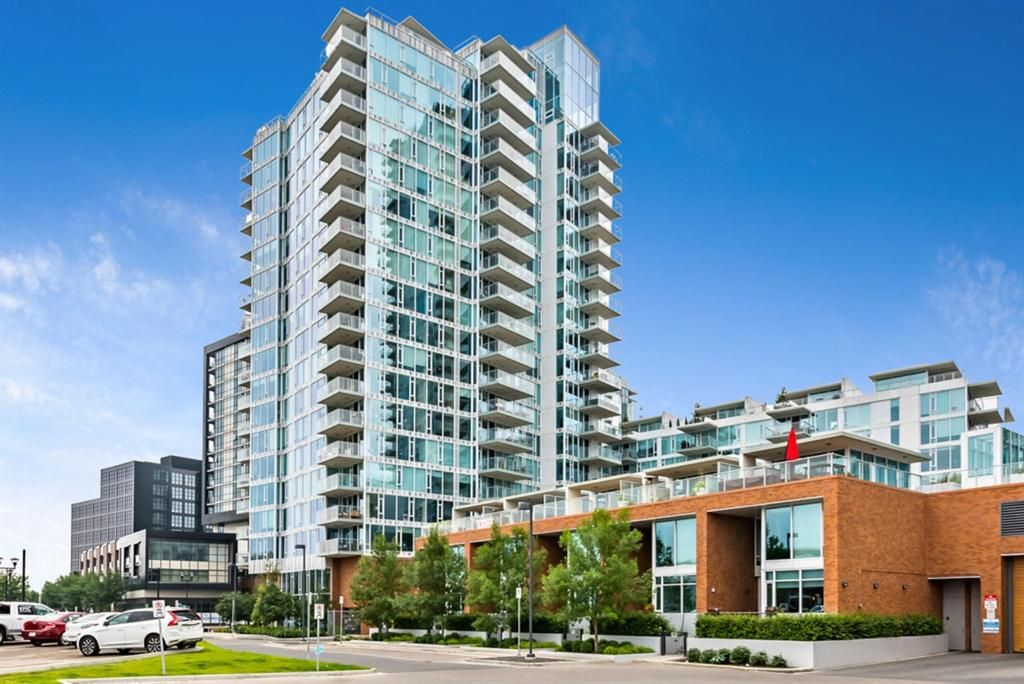 Main Photo: 1403 519 Riverfront Avenue SE in Calgary: Downtown East Village Apartment for sale : MLS®# A1131819