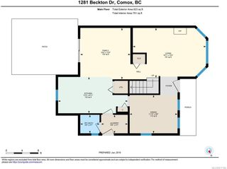 Photo 32: 1281 BECKTON DRIVE in COMOX: CV Comox (Town of) House for sale (Comox Valley)  : MLS®# 817184
