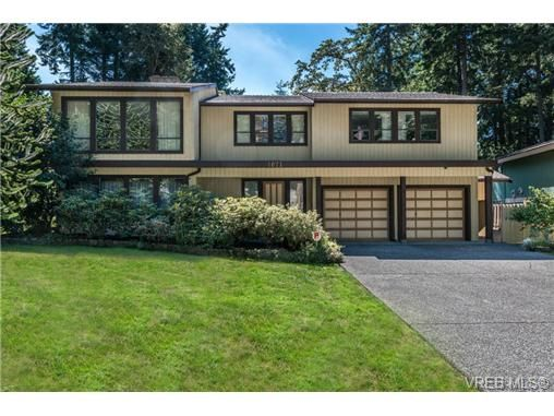 Main Photo: 1071 Quailwood Place in VICTORIA: SE Broadmead Residential for sale (Saanich East)  : MLS®# 327540