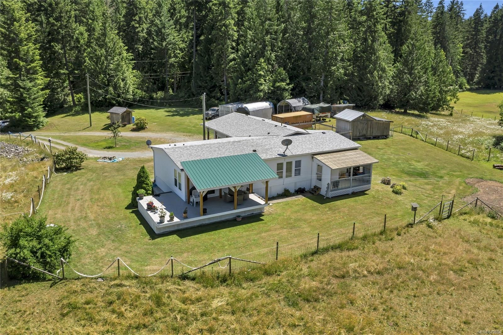 Photo 4: Photos: 3596 Riverside Rd in : ML Cobble Hill Manufactured Home for sale (Malahat & Area)  : MLS®# 879804