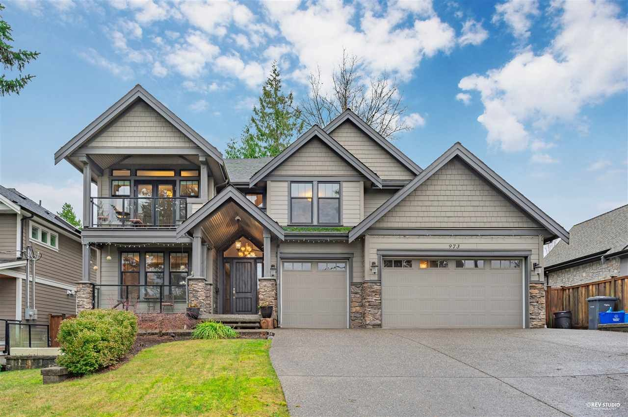 Main Photo: 973 BLUE MOUNTAIN STREET in Coquitlam: Harbour Chines House for sale : MLS®# R2523969