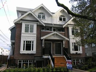 Photo 1: 2868 Spruce Street in Vancouver West: Fairview VW Home for sale ()  : MLS®# 694898