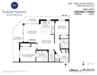 """Photo 23: 204 2020 ALMA Street in Vancouver: Kitsilano Condo for sale in """"LOCARNO"""" (Vancouver West)  : MLS®# R2617653"""