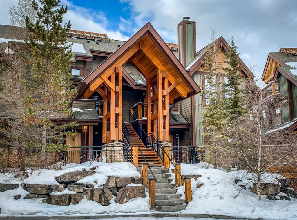 Main Photo: 122 107 Armstrong Place: Canmore Row/Townhouse for sale : MLS®# A1071469