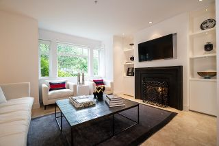 """Photo 2: 4472 W 8TH Avenue in Vancouver: Point Grey Townhouse for sale in """"Sasamat Gardens"""" (Vancouver West)  : MLS®# R2618782"""