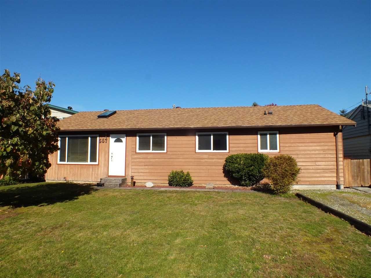 Main Photo: 557 RUPERT Street in Hope: Hope Center House for sale : MLS®# R2414830