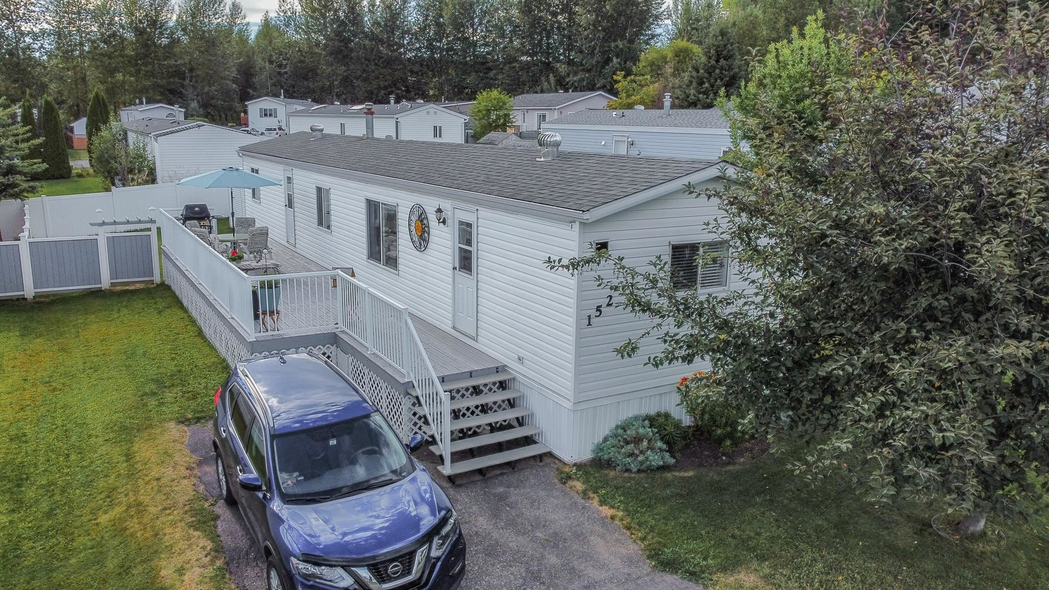 Main Photo: 152 2500 GRANT Road in Prince George: Hart Highway Manufactured Home for sale (PG City North (Zone 73))  : MLS®# R2608988
