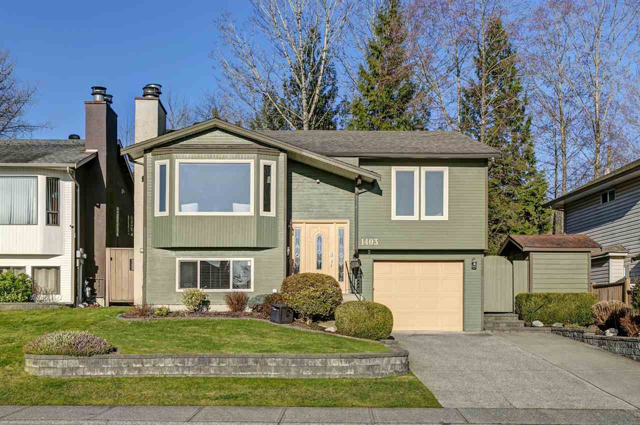 Main Photo: 1403 GABRIOLA Drive in Coquitlam: New Horizons House for sale : MLS®# R2534347