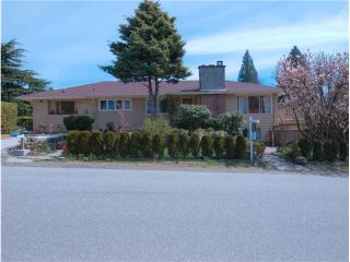 Photo 1: 1296 INGLEWOOD AVE in West Vancouver: Ambleside House for sale : MLS®# V944548