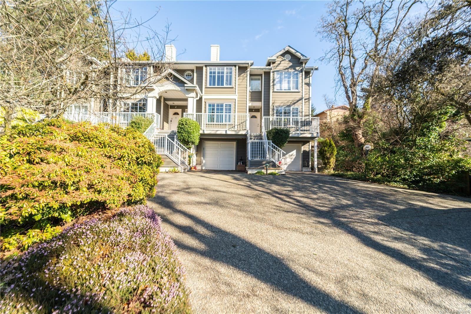 Main Photo: 4 906 Admirals Rd in : Es Gorge Vale Row/Townhouse for sale (Esquimalt)  : MLS®# 865916