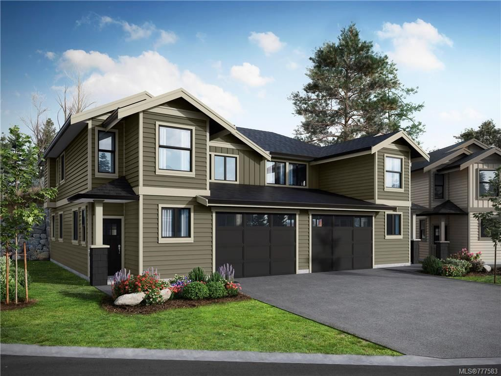 Main Photo: 17 Massey Pl in View Royal: VR Six Mile Row/Townhouse for sale : MLS®# 777583