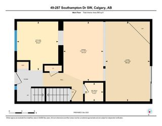 Photo 3: 49 287 Southampton Drive SW in Calgary: Southwood Row/Townhouse for sale : MLS®# A1059681