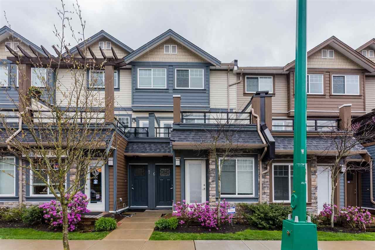 Main Photo: 6 18819 71 Avenue in Surrey: Clayton Townhouse for sale (Cloverdale)  : MLS®# R2156089