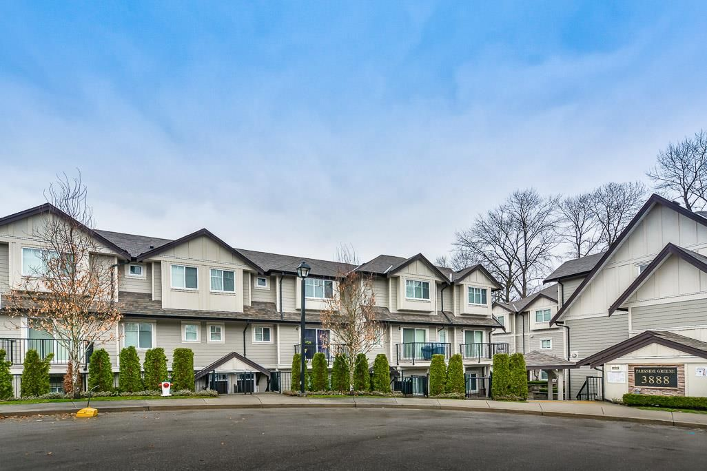 """Main Photo: 121 3888 NORFOLK Street in Burnaby: Central BN Townhouse for sale in """"PARKSIDE GREENE"""" (Burnaby North)  : MLS®# R2148463"""