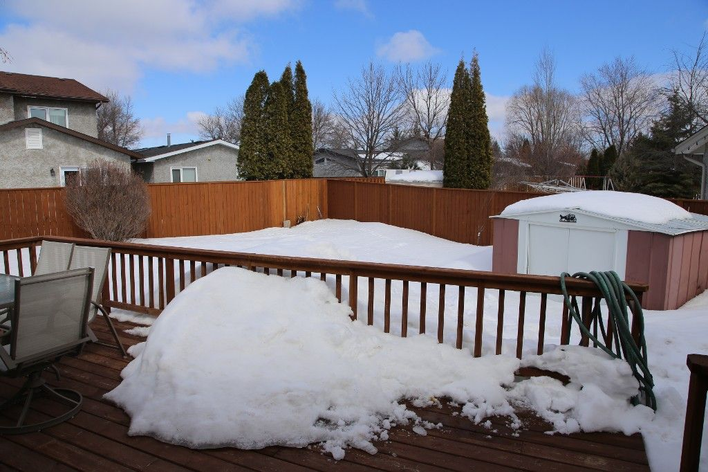 Photo 31: Photos: 28 Woodchester Place in Winnipeg: Charleswood Single Family Detached for sale (South Winnipeg)  : MLS®# 1406268
