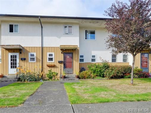 Main Photo: 418 W Burnside Rd in VICTORIA: SW Tillicum Row/Townhouse for sale (Saanich West)  : MLS®# 743664