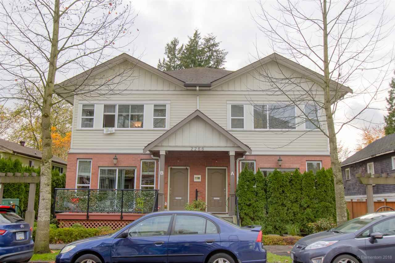 """Main Photo: A 2266 KELLY Avenue in Port Coquitlam: Central Pt Coquitlam Townhouse for sale in """"Mimara"""" : MLS®# R2321467"""