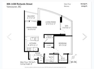 """Photo 23: 806 1438 RICHARDS Street in Vancouver: Yaletown Condo for sale in """"AZURA 1"""" (Vancouver West)  : MLS®# R2541755"""