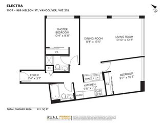 """Photo 7: 1007 989 NELSON Street in Vancouver: Downtown VW Condo for sale in """"ELECTRA"""" (Vancouver West)  : MLS®# R2590988"""