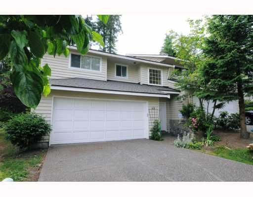 """Main Photo: 49 DEERWOOD Place in Port_Moody: Heritage Mountain Townhouse for sale in """"HERITAGE GREEN"""" (Port Moody)  : MLS®# V771139"""
